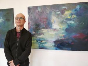 Vernissage mit Wolfgang Beck