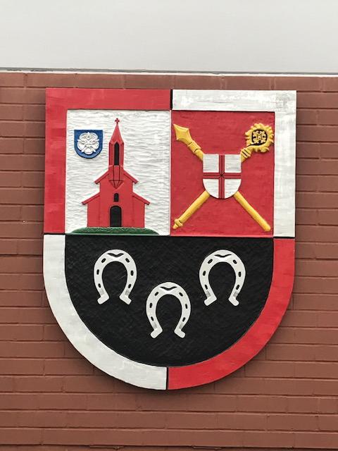 Wappen der Verbandsgemeinde Eisenberg, Aluminium lackiert